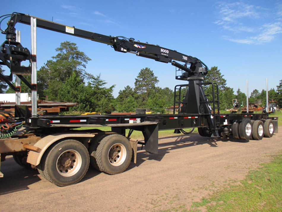 Galvastar Trailer with Hood 7000 Loader