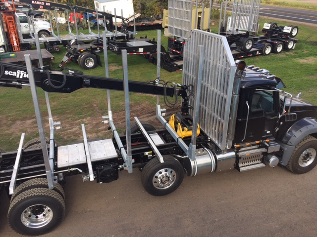 Mack with Galvastar Rack