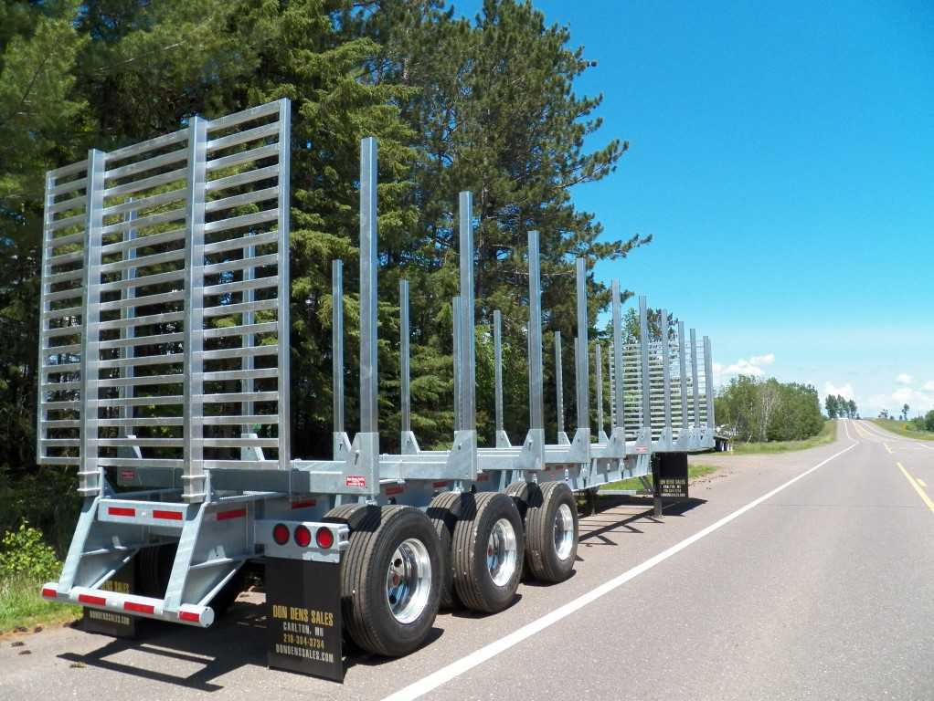 Galvanized Log Trailer End Gates