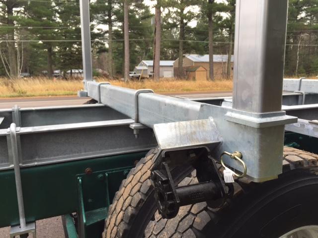 Galvastar Trailers Log Bunks For Flatbed Or Rail Trailers
